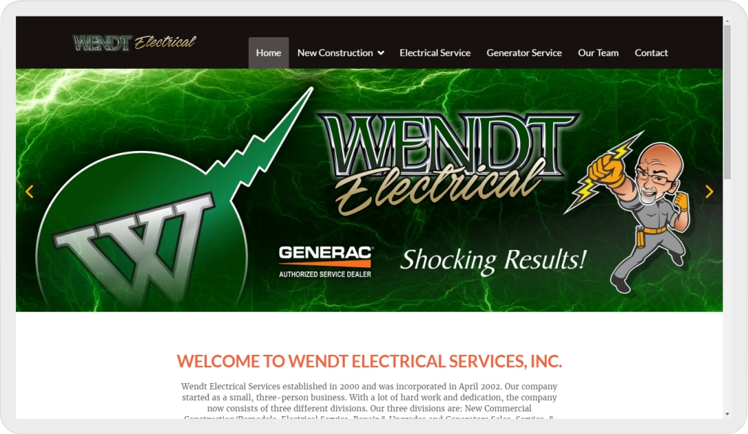 Wendt Electrical Services Inc